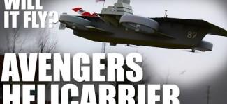 Flite Test | Will it Fly? – Avengers Helicarrier