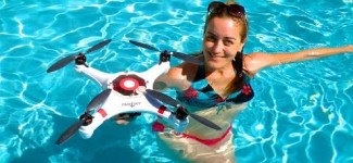 "World's First Submarine Drone!! The ""MARINER"" Waterproof Drone, filmed in St Maarten"