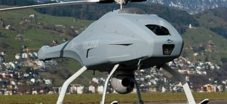Terrorist Hunter Swedish Military SKELDAR UAV Helicopter