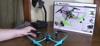 Nine Eagles – Galaxy Visitor 6 WiFi FPV – Review and Flight