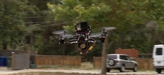Pilots race drones in first national championships