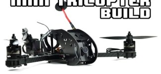 RCExplorer Mini Tricopter – Build Video