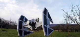 Star Wars Quadcopter Drones That Defy Aerodynamics