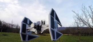 Star Wars Quadcopter Drones That Defy Aerodynamics