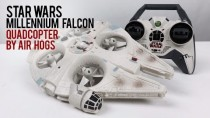 Star Wars Millennium Falcon Quadcopter Drone By Air Hogs RC Review