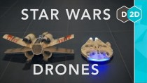Millennium Falcon vs. X-Wing – Star Wars Drones Review