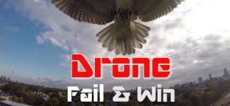Drone Crash, Fail & Win Compilation 2015, Part 1/3