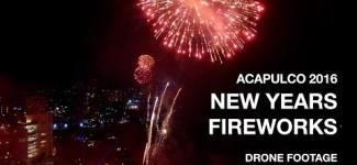 Acapulco 2016 – NYE Fireworks