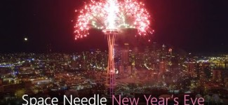 Space Needle NYE Fireworks