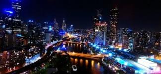 Melbourne City NYE 2016 Fireworks