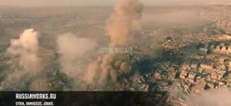 Drone footage shows fierce clashes between Syrian Army & US-backed islamic terrorists