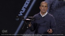 CNET News – Intel shows intelligent drone with Real Sense tech