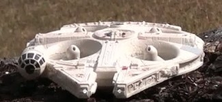 RC Millennium Falcon from Air Hogs