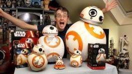 XRobots – Star Wars BB-8 BIG Toy unboxing review & comparison, Sphero, Bladez, Hasbro