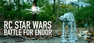 RC Star Wars Battle For Endor: AT-AT Walker Takedown