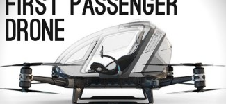 World's First Passenger Drone (Ehang 184)