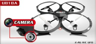 Drone With Camera | UDI U818A Review | Best Quadcopter For Beginners