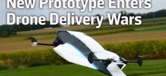 New Prototype Enters Drone Delivery Wars