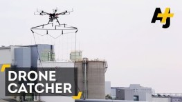 Police Build A Drone Catcher To Take Out Other Drones