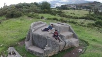 Drone View Of Megalithic Sites In Peru And Bolivia