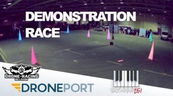 Drone Racing Belgium – Droneport Demonstration Race