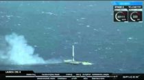 SpaceX Falcon 9 – Successful Drone Ship Landing – 8th April 2016