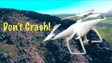 Drone vs Cliff. dji Phantom 4 Object Avoidance Saves Drone From Major Crash!
